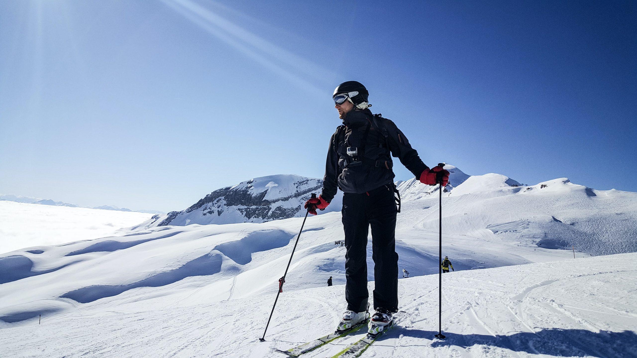 Coaching-Reise in Saas Fee Skifahren