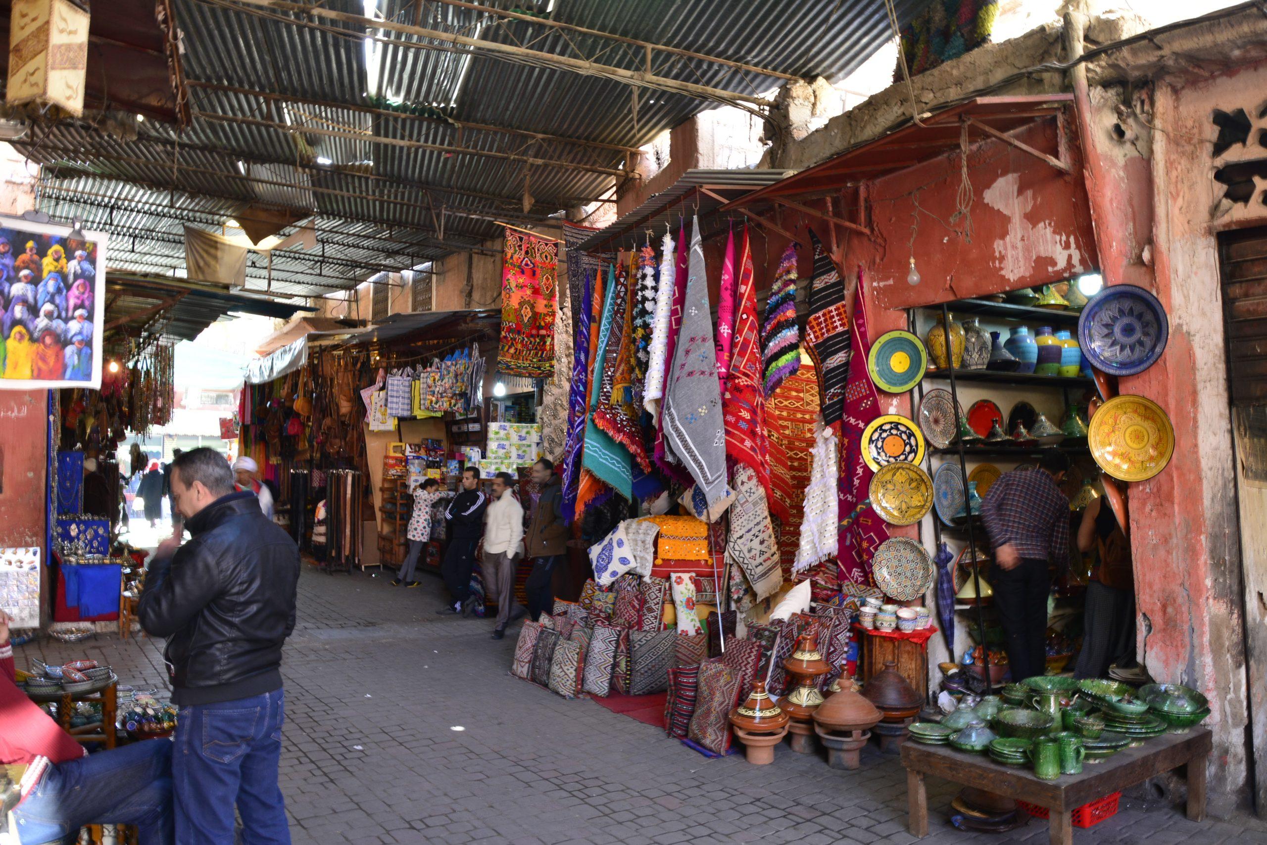 Coaching Reise Marokko Bazaar