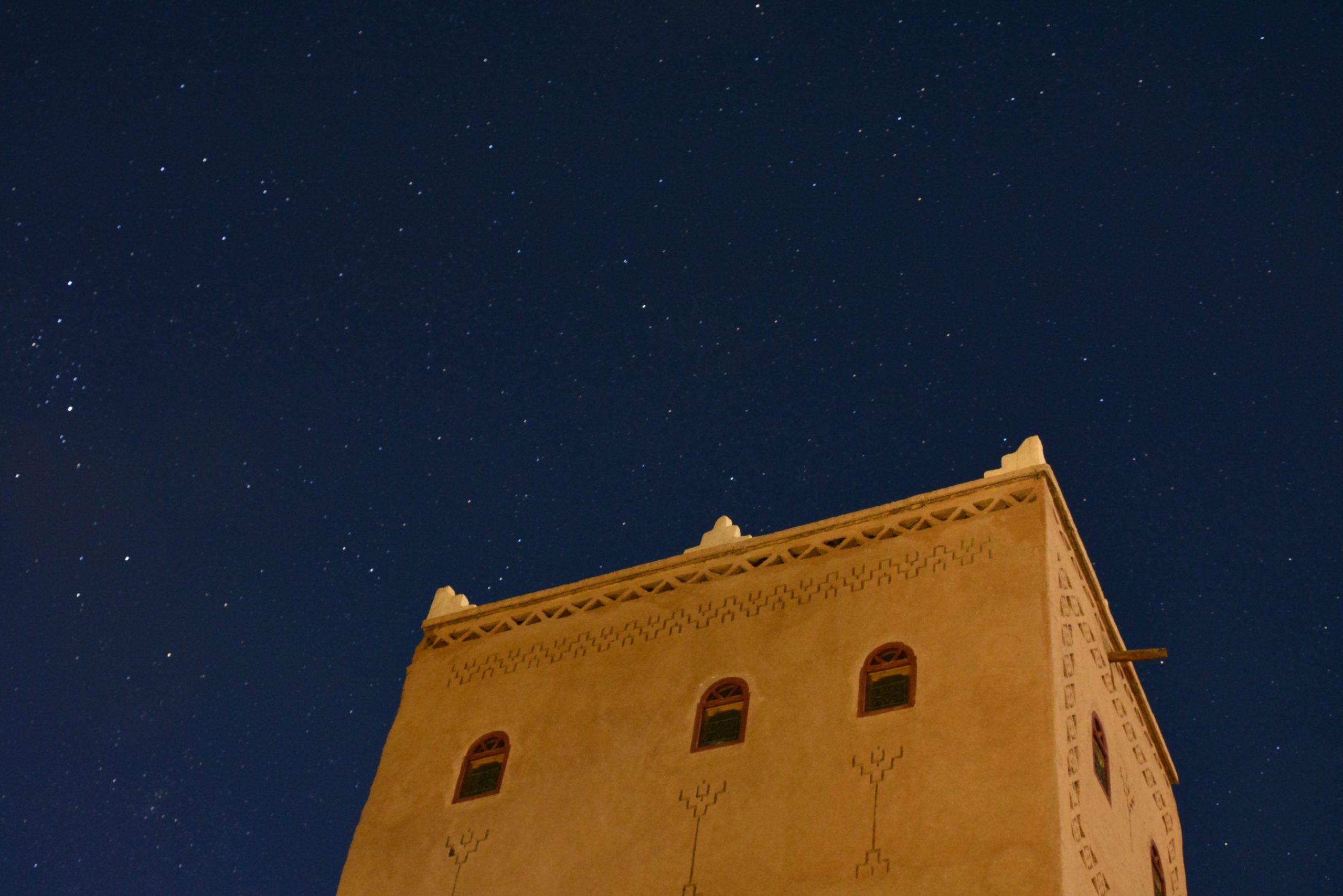 Kasbah bei Nacht
