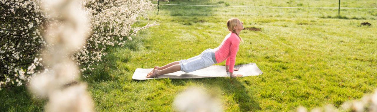 Westerwald Coaching-Reise mit Yoga Einheiten