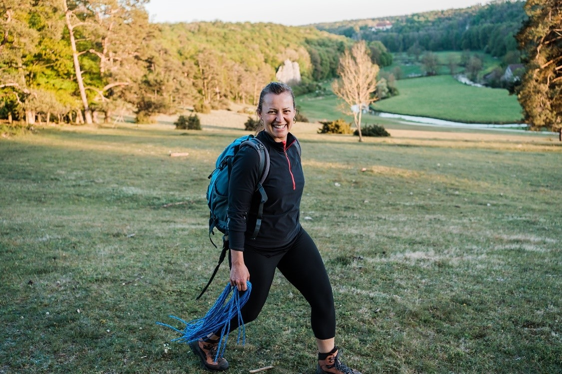 Impression Anja Buntz beim Wandercoaching