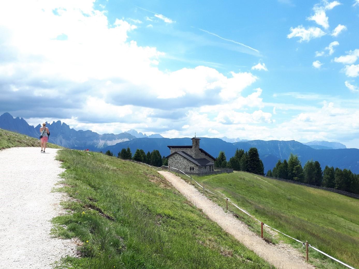Impression Wandercoaching in Südtirol