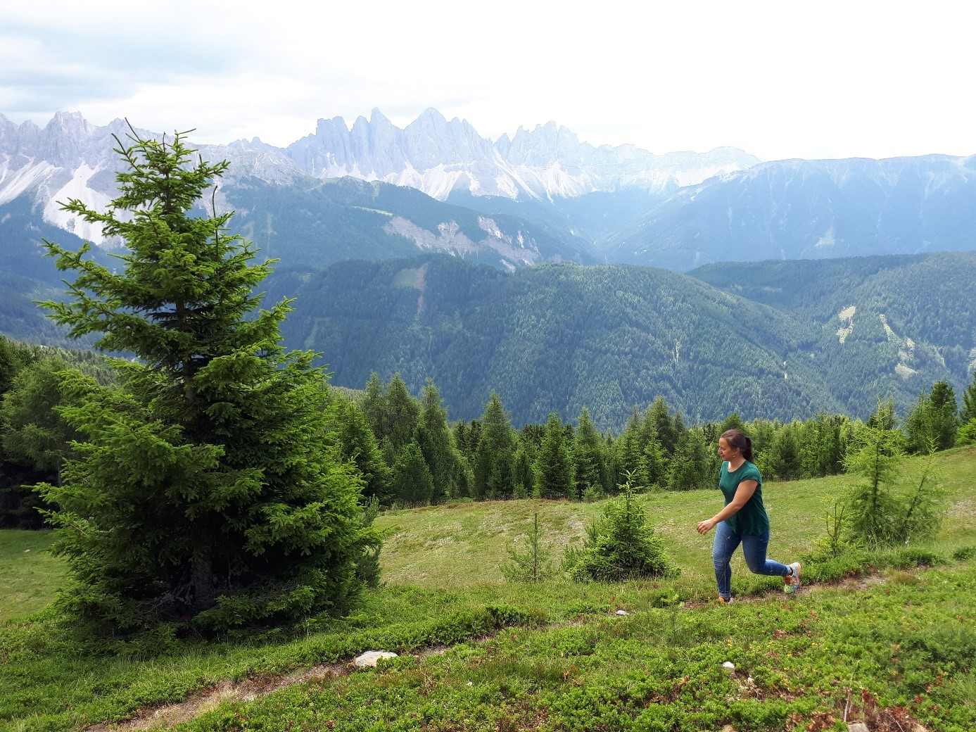Impression Wandercoaching in den Bergen Süditirols