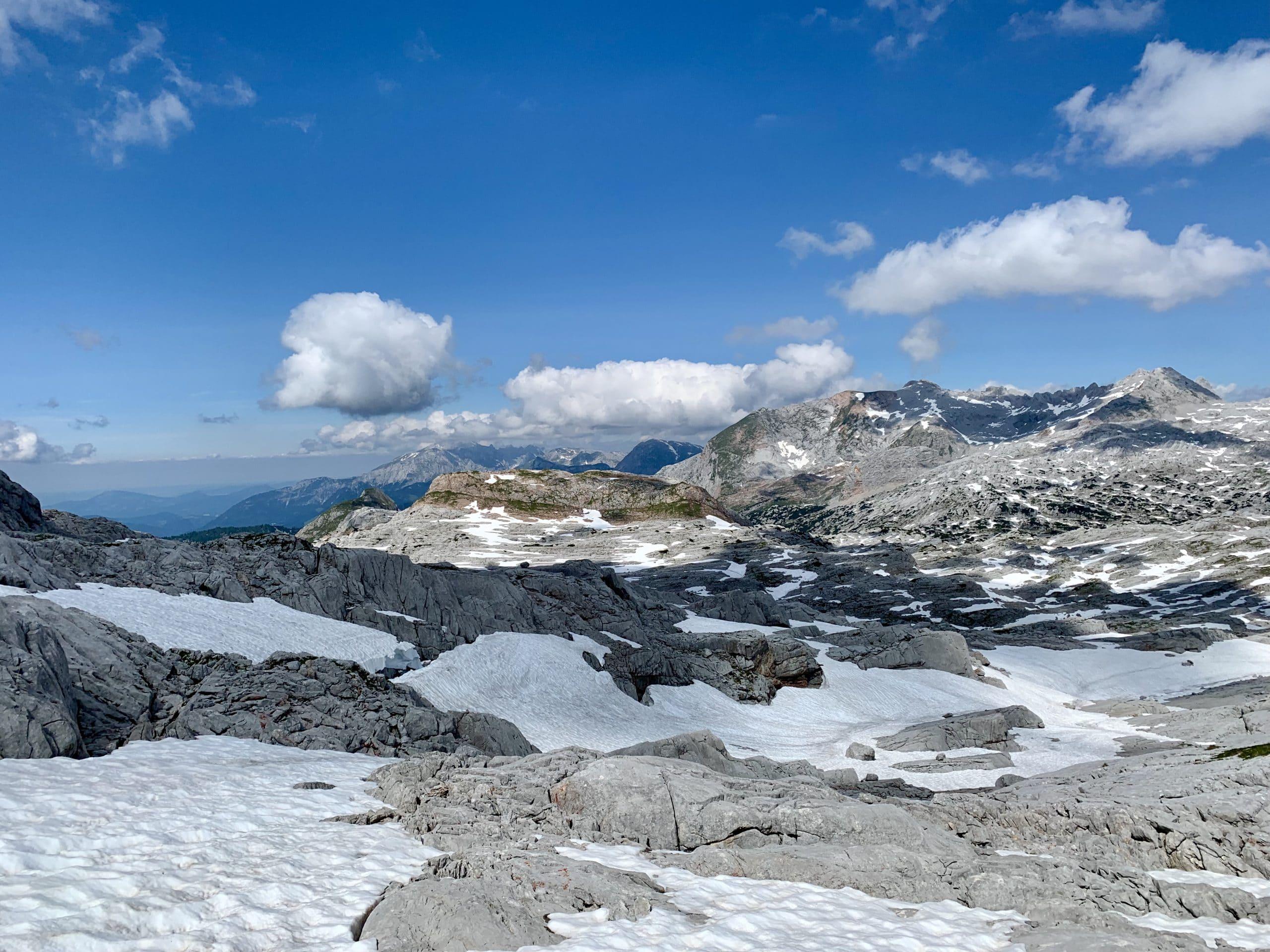Impression einer Berglandschaft während einer Coaching-Reise