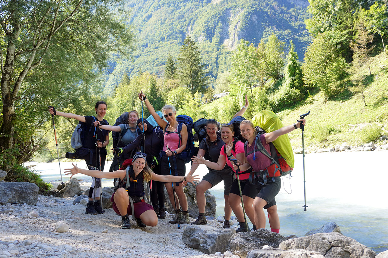 Coaching-Reise in Slowenien Pfade finden 2021