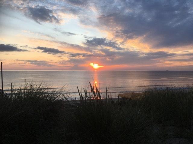 Impression eines Sonnenuntergangs auf Sylt beim Coaching