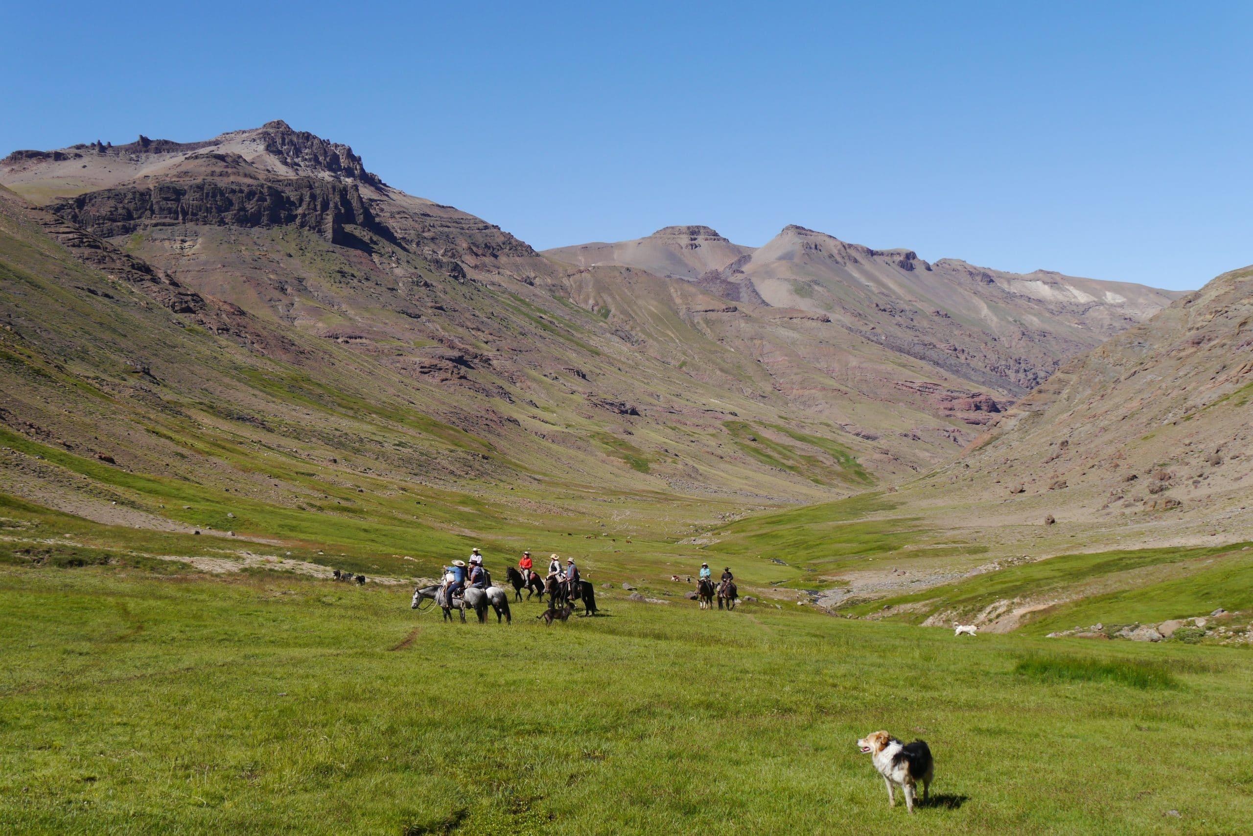 Freiheit in den Anden Suche nach dem Zeltplatz